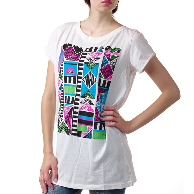 Oneill Women Tee, Color: white, Material: 100% cotton