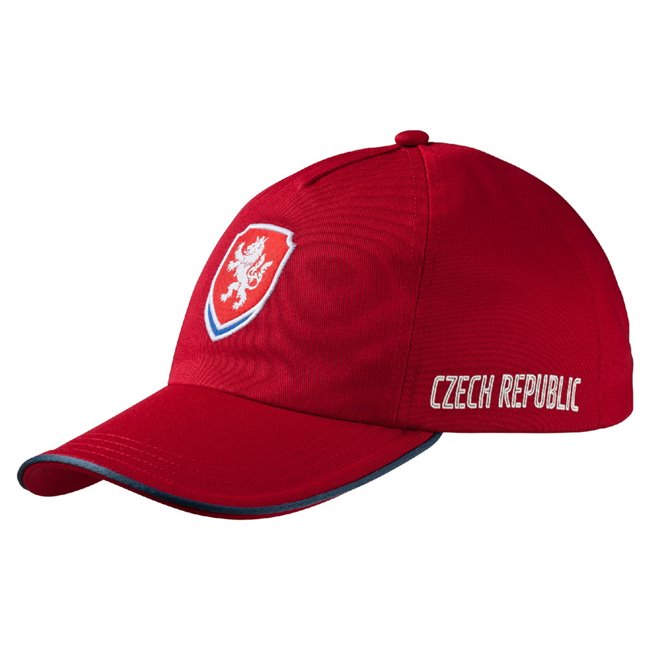PUMA Men Czech republic Cap, Colour: Red