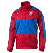 PUMA Česká reprezentace Lightweight Rain Jacket šusťáková bunda