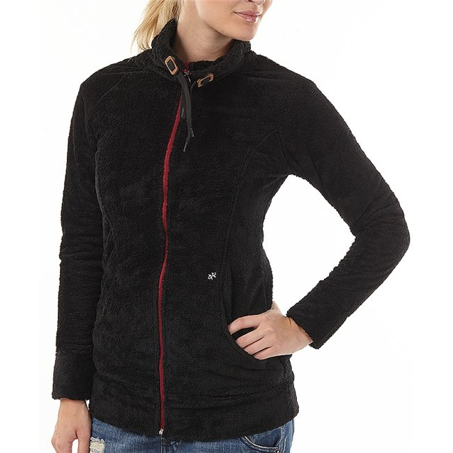 <p>Women´s Oxbow fullzip fleece top with leather zip puller, adjustable higher collar with internal drawcord, 2 side pockets, small Oxbow label on back left shoulder.</p>