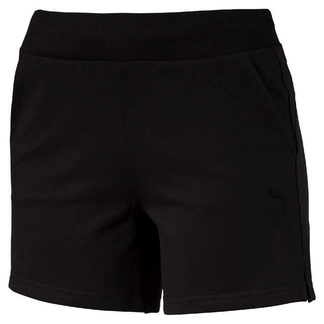 PUMA ESS Shorts W women shorts, Color: Black Material: 87% cotton, 13% polyester