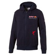 PUMA Red Bull Racing Hooded Sweat Jacket pánská mikina