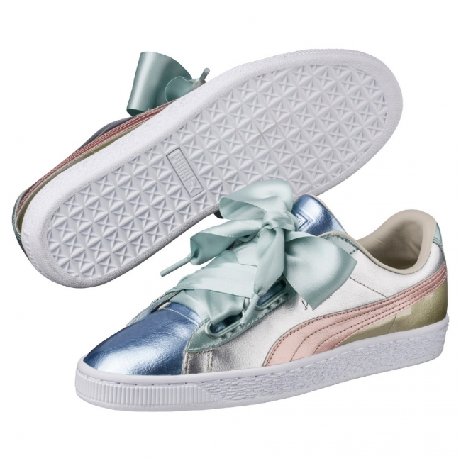 puma basket heart buty