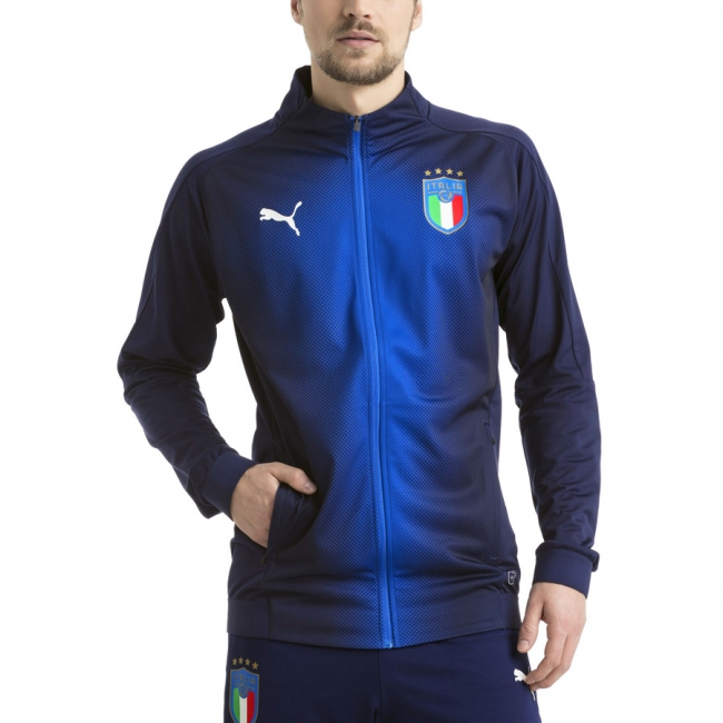 puma herren jacke figc italia stadium jacket