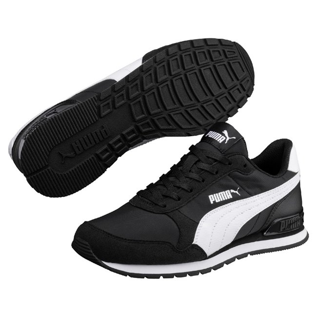 PUMA ST Runner v2 NL women shoes, Colour: black, white, Material: Upper: nylon, Midsole: EVA, Sole: rubber