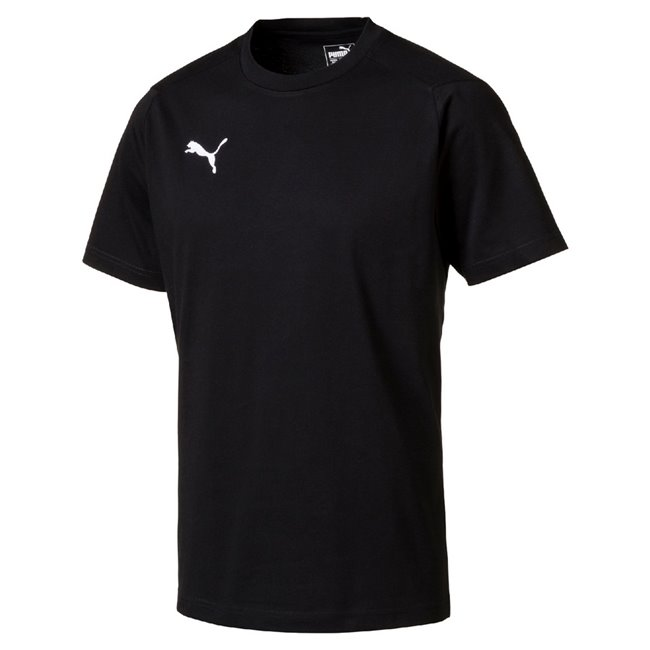 PUMA LIGA Casuals T-shirt, Color: black, Material: Cotton