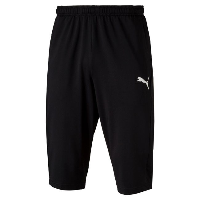 PUMA LIGA Training 3 4 Pants, Color: black, Material: 100% polyester