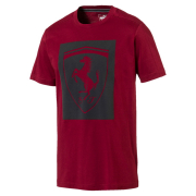 PUMA Ferrari Big Shield Tee maends t-shirt