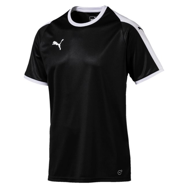 PUMA LIGA Jersey men T-Shirt, Colour: black, white, Material: polyester