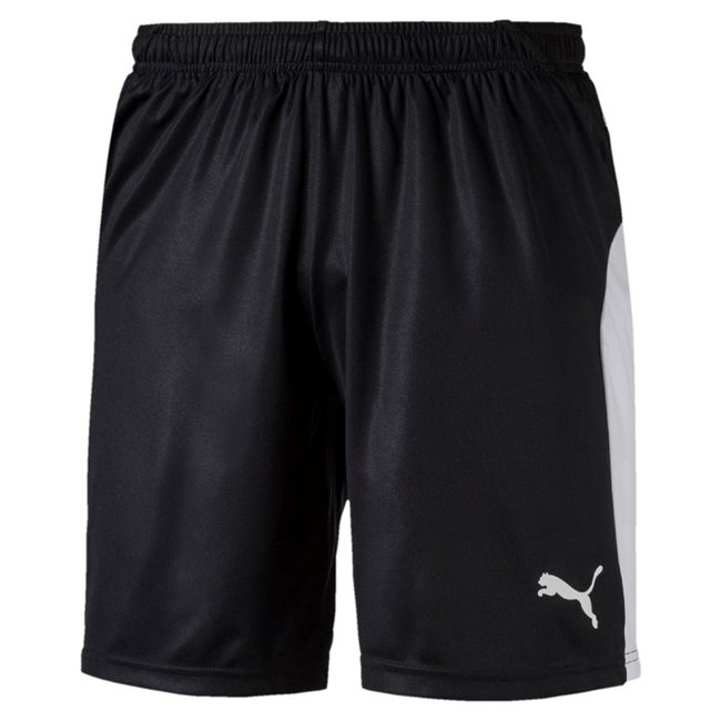 PUMA LIGA Shorts men shorts, Colour: black, white, Material: polyester