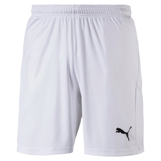 PUMA LIGA Shorts Core men shorts, Colour: white, black, Material: polyester