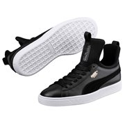 PUMA Basket Fierce wns women shoes, Color: Black Material: Upper: leather Midsole: rubber, Sole: rubber