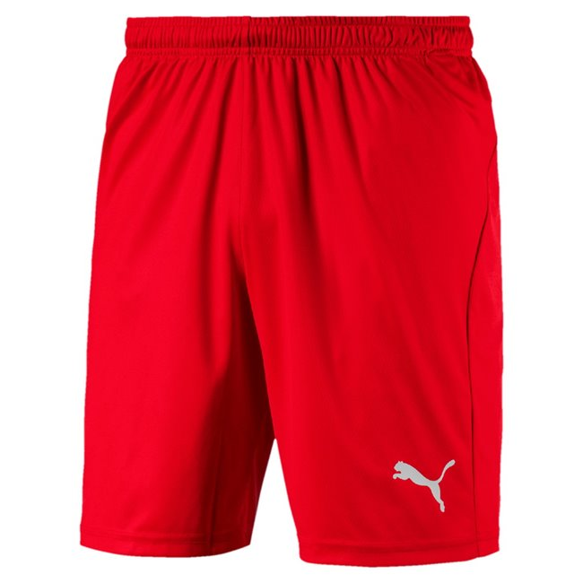 PUMA LIGA Shorts Core men shorts, Colour: red, white, Material: polyester