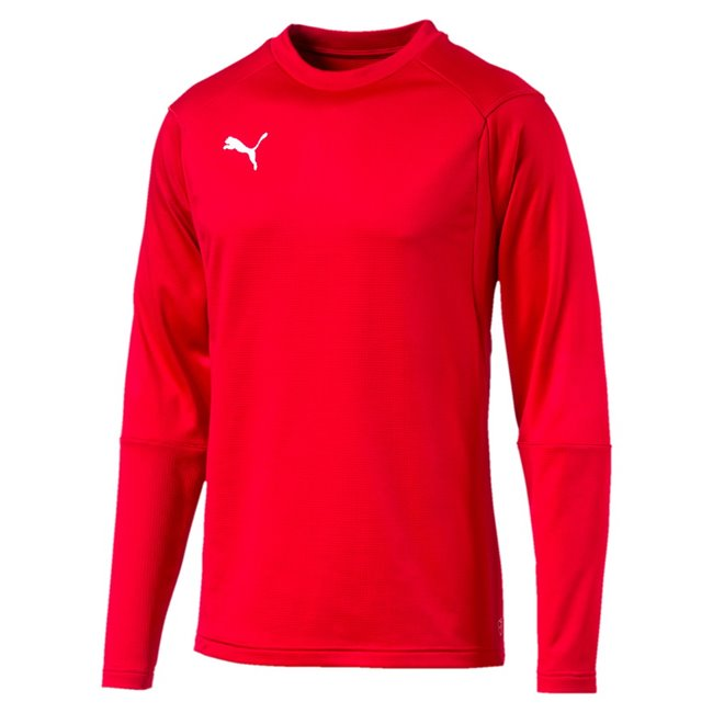 PUMA LIGA Training sweatshirt, Color: red, Material: N / A