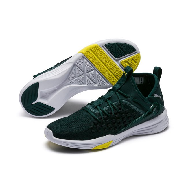 puma scarpe verdi