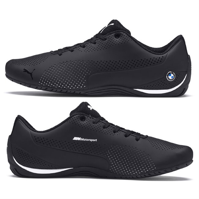BMW MS Drift Cat 5 Ultra men shoes, Color: BMW team blue, White, Red, Material: Upper: Synthetic Leather, Sole: Rubber