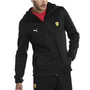 <p>Ferrari SF Softshell men sweatshirt, Color: black, Material: polyester Softshell, full zip, hood, PUMA Cat logo and Ferrari on the front</p>