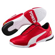 Ferrari SF Kart Cat III men shoes, Color: Red, White, Material: Upper: Synthetic Leather, Midsole: EVA, Sole: Rubber
