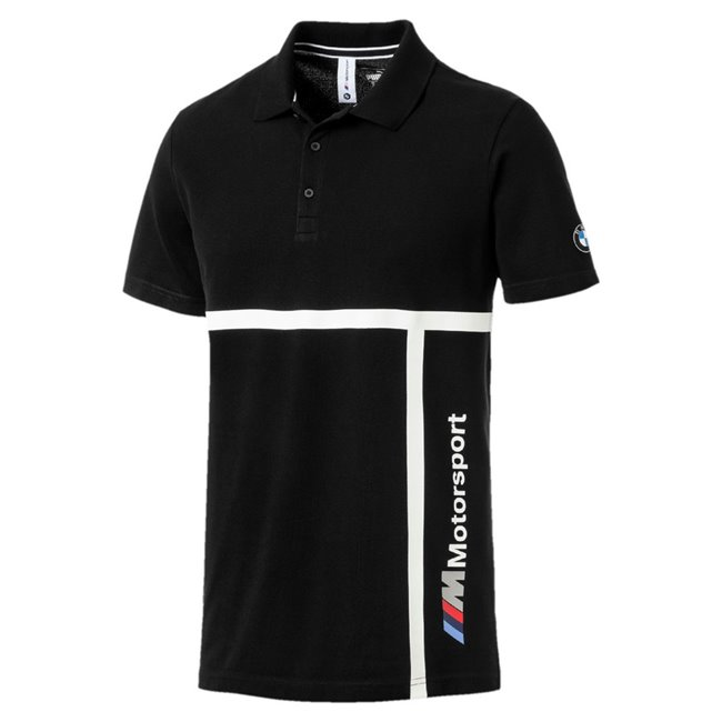 BMW MMS Polo, Color: black, Material: 100% cotton