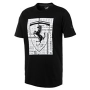 Ferrari Big Shield Tee maends t-shirt