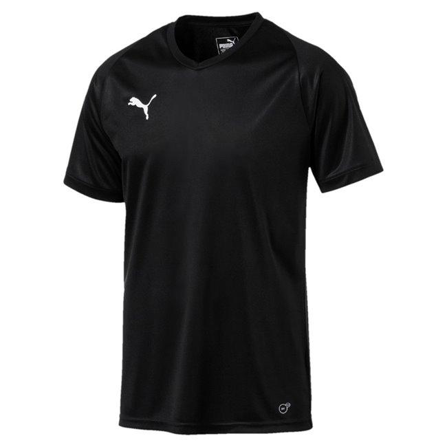 PUMA LIGA Jersey Core men T-Shirt, Colour: black, white, Material: polyester