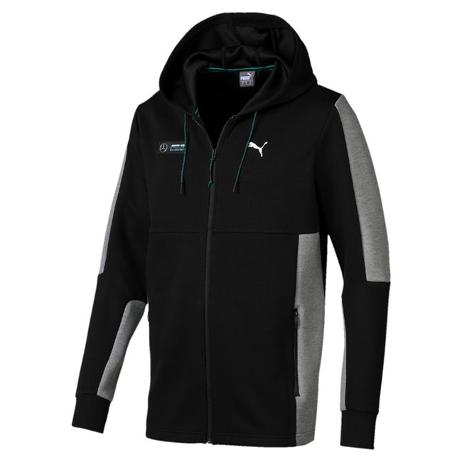 Mercedes MAPM Sweat Jacket, Color: black, Material: polyester, viscose