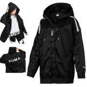 PUMA Chase Woven Jacket, Color: black, Material: 100% polyester