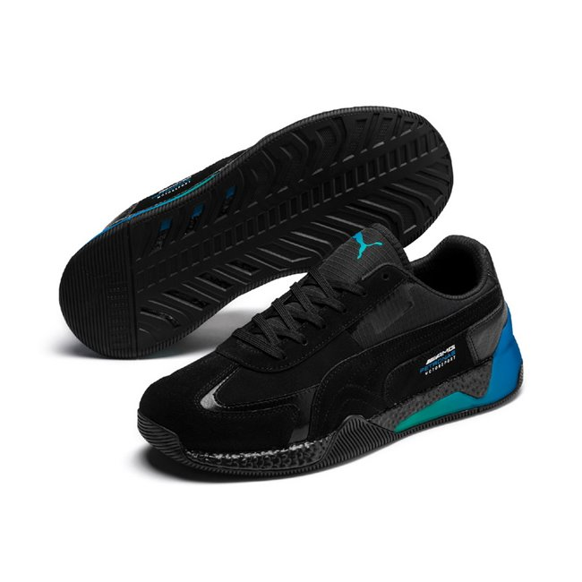 Mercedes MAPM Speed Hybrid men shoes, Color: black, Material: leather