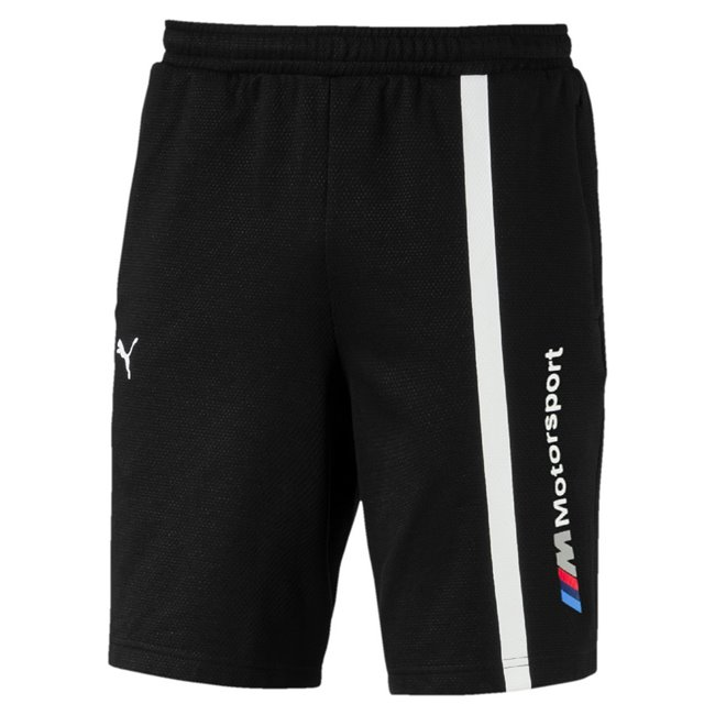 BMW MMS Sweat Shorts, Color: black, Material: cotton, polyester