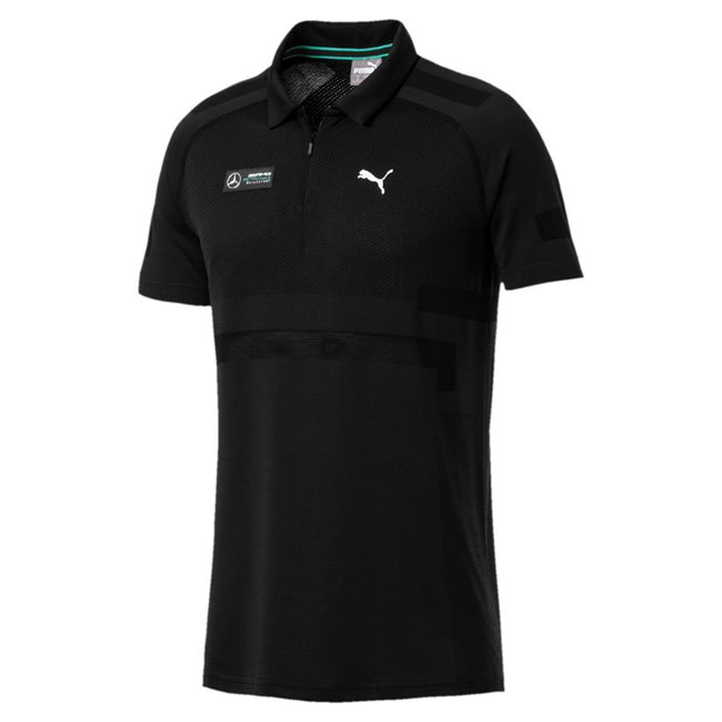 Mercedes MAPM evoKNIT Polo, Color: black, Material: nylon, polyester