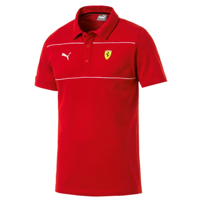 Ferrari SF Polo, Color: Ferrari red, Material: 100% cotton