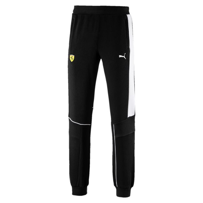 Ferrari SF Sweat Pants, Color: black, Material: cotton, polyester