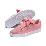 PUMA Basket Heart Woven Rose Shoes