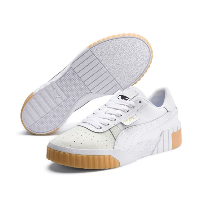 b8755a7ca PUMA Cali Exotic Wns women shoes, Color: white, Material: Synthetic leather