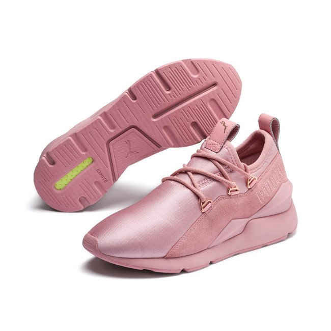PUMA Muse 2 Wns women shoes, Color: pink, Material: fabric