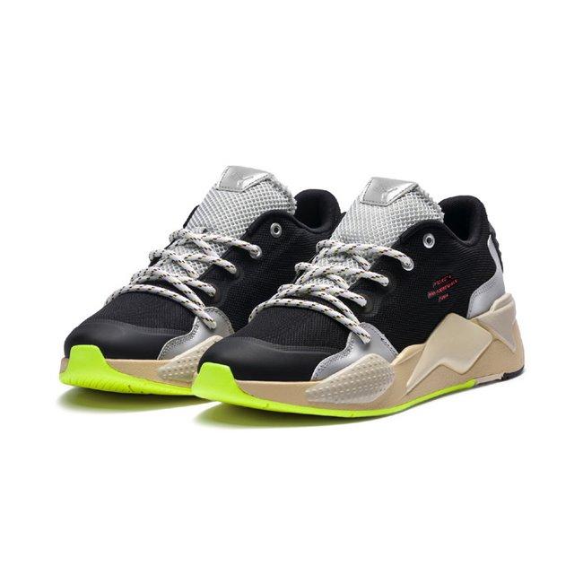 PUMA RS-X HAN shoes, Color: black, Material: fabric