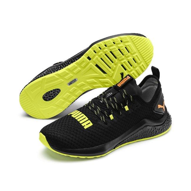 PUMA Hybrid NX Daylight men shoes, Color: black, Material: fabric