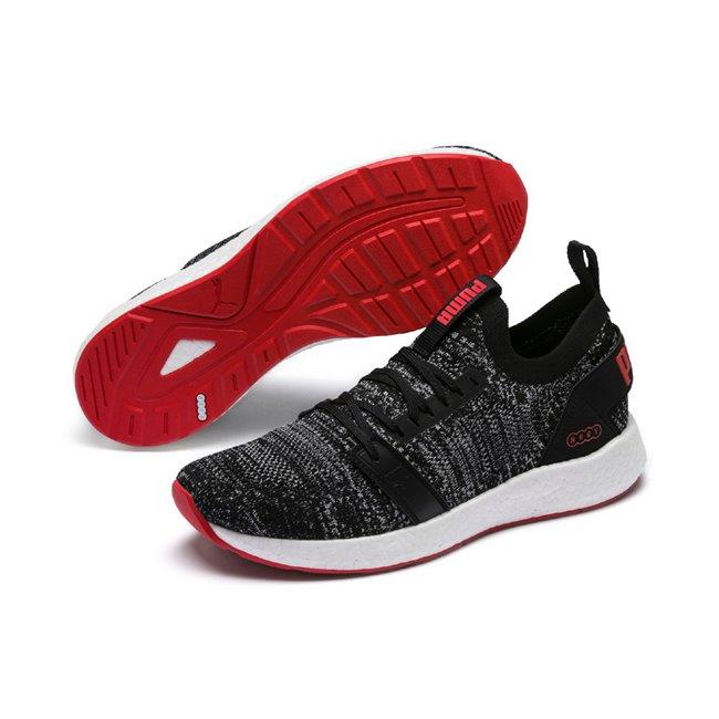 PUMA NRGY Neko Engineer Knit men shoes, Color: black, Material: Textiles