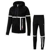 BMW sweatshirt and pants, Sweatshirt: Color: Black, Material: cotton, polyester, Trousers: Color: Black, Material: cotton, polyester