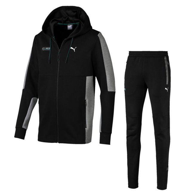 Mercedes jacket and pants, Jacket: Color: Black, Material: polyester, viscose, Trousers: Color: Black, Material: polyester, viscose