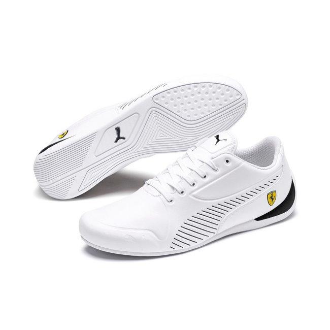Ferrari SF Drift Cat 7S Ultra men shoes, Color: white, Material: Synthetic fibers