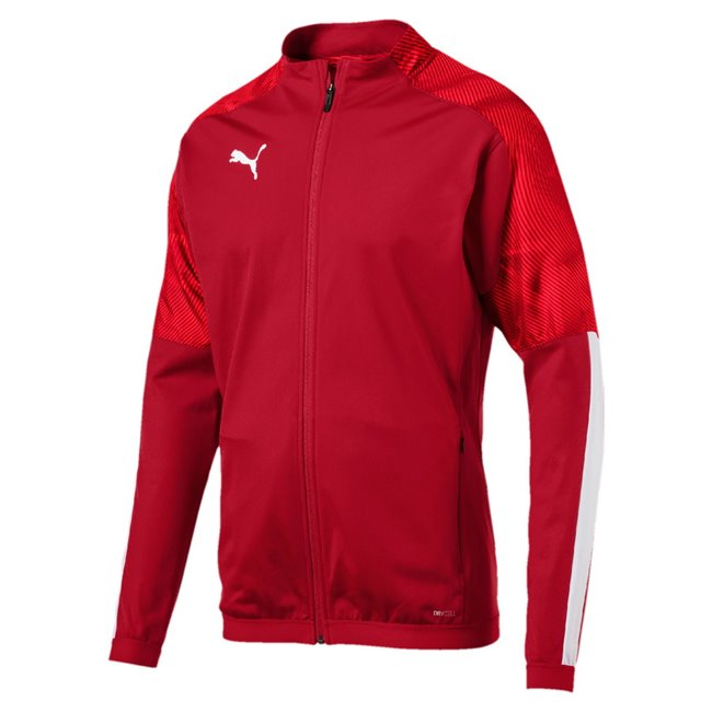 PUMA CUP Training jacket, Color: red, Material: 100% polyester