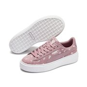 PUMA Suede Platform Dots women shoes