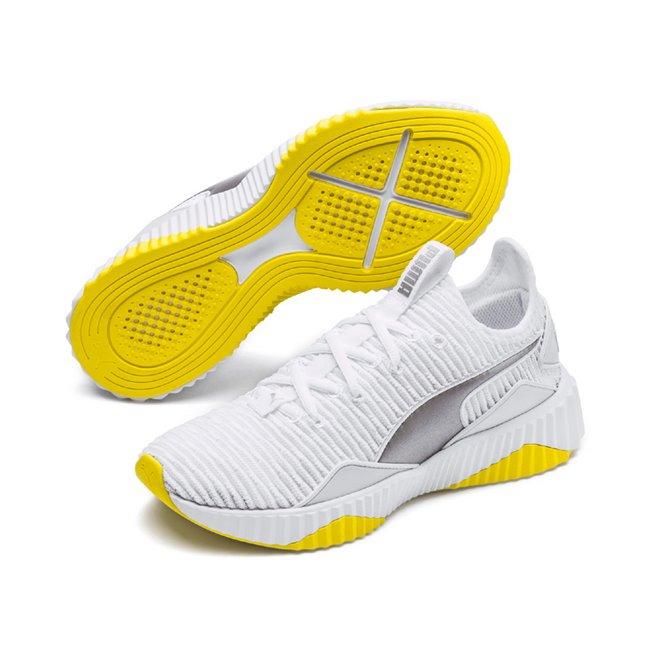 PUMA Defy TZ Wns women shoes, Color: white, Material: Textile