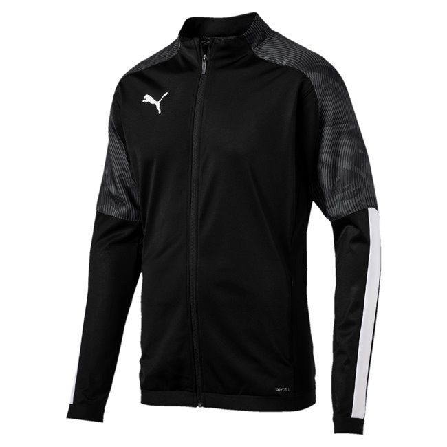 PUMA CUP Training jacket, Color: black, Material: 100% polyester