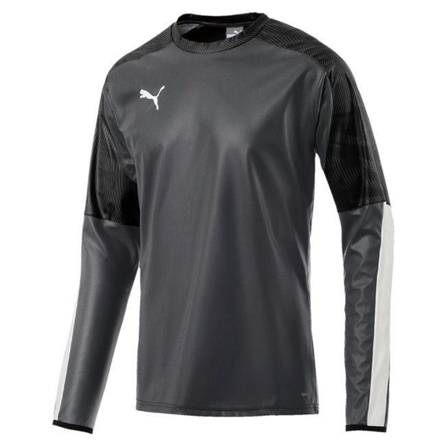 PUMA CUP Training RainTop sweatshirt, Color: Black, Material: 100% polyester