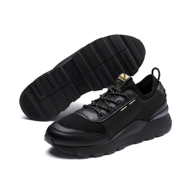 PUMA RS-0 TROPHY shoes, Color: black, Material: Textiles