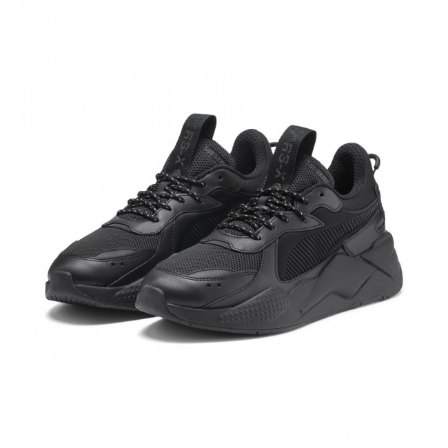PUMA RS-X CORE shoes, Color: black, Material: fabric
