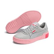 PUMA Cali women shoes, Color: gray-violet, Material: Synthetic leather