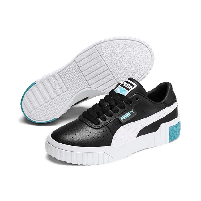 PUMA Cali women shoes, Color: Black, Material: Synthetic leather